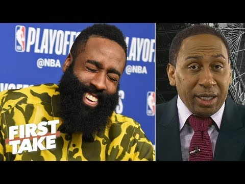 Stephen A.'s sources deny locker room fight between Harden and Chris Paul after Game 6 | First Take