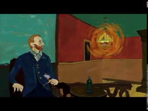 This Van Gogh Painting Coming Alive In 3D Is Super Trippy