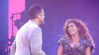 Beyonce and George Michael - If I Were a Boy - Live SEXY Music videos- 9th June 2009 HQ HD