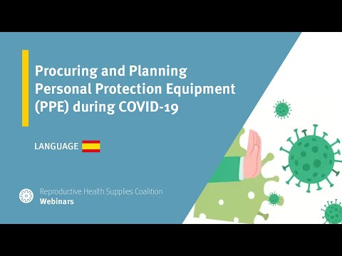 Procuring and Planning Personal Protection Equipment (PPE) during COVID-19