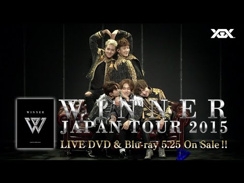 WINNER – 2015 JAPAN TOUR Trailer2
