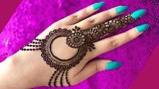 EID Special Trendy New Latest Henna Mehndi Design For Hands EID 2020