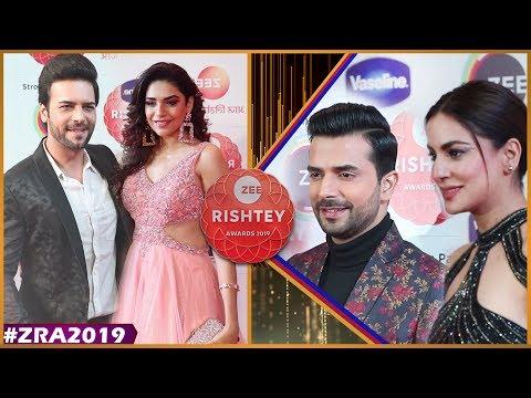 Shraddha Arya ,Manit Joura With Kundali Bhagya Team   Zee Rishtey Awards 2019   Zee Awards 2019