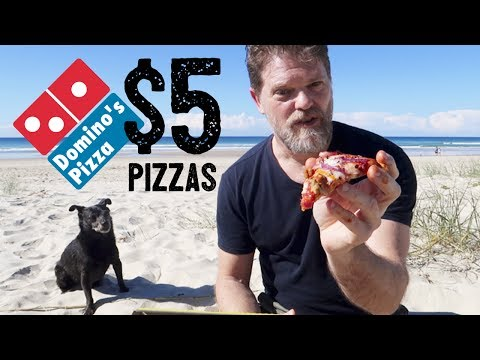 NEW DOMINO'S $5 PORK SAUSAGE PIZZAS FOOD REVIEW – Greg's Kitchen – Fast Food Friday Food Reviews