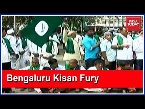 Sugarcane Farmers From Kerala To Karnataka Escalate Bengaluru Protest