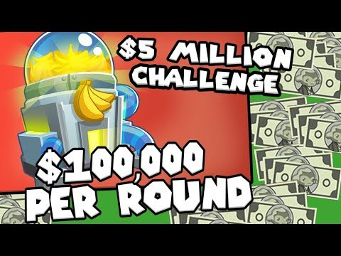 Bloons TD 6 - $5 Million Challenge | JeromeASF