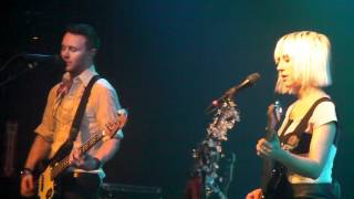Joy Formidable San Francisco - The Magnifying Glass + Llaw=Wall 3-12-12