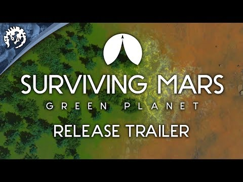 Surviving Mars Green Planet Release Trailer thumbnail