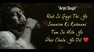 Raanjhana Full Song (Lyrics) - Arijit Singh | Priyank   - YouTube