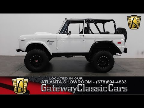 1974 Ford Bronco - Gateway Classic Cars Of Atlanta #760