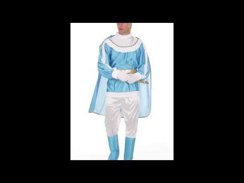 Disfraz de Príncipe Azul adulto.