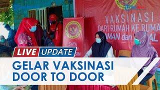 BIN Sulawesi Tenggara Blusukan saat Vaksinasi Door to Door Bagi Warga di Kabupaten Konawe