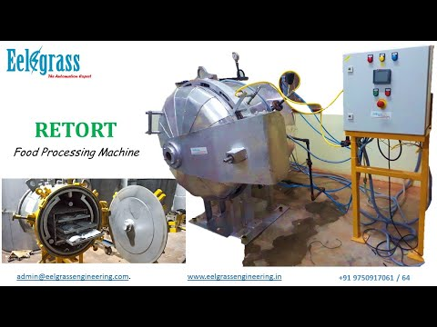 Canning Retort Machine Food Sterilizer Pouches Tin Cans