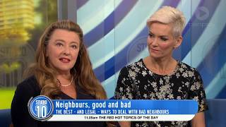 How To Deal With Bad Neighbours | Studio 10