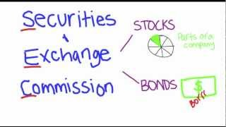 What does The Securities and Exchange Commission do?