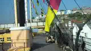 preview picture of video 'All aboard -  Steam Ship Great Britain. River Avon - Bristol England'
