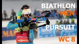 BIATHLON MEN PURSUIT 17.03.2018 World Cup 8 Holmenkollen (Norway)