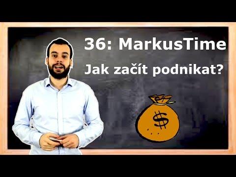 36 MarkusTime: Jak začít podnikat?