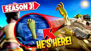 *NEW* FINDING BURIED MIDAS ARM *EASTER EGG* IN FORTNITE SEASON 3! (Battle Royale)