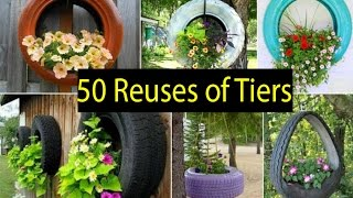 50 Ideas Of How To Reuse And Recycle Old Tires