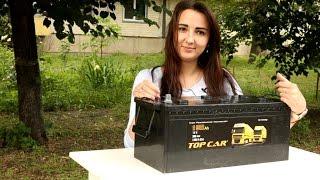 Аккумуляторы top car 6СТ-190 EUR от компании ПКФ «Электромотор» - видео 2