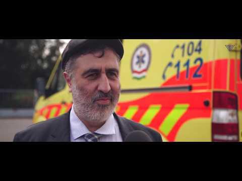 Hitközség a közösségért – Orvosi műszereket adományozott az EMIH Tiszalök részére