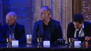Том Фелтон, Harry Potter Leavesden Studio Tour cast & crew press conference