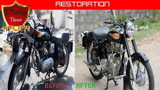 Vintage Bullet Rebuild -(Model 1998) Royal Enfield