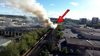 Explosion Caught With DRONE! | Tina Broke Something...