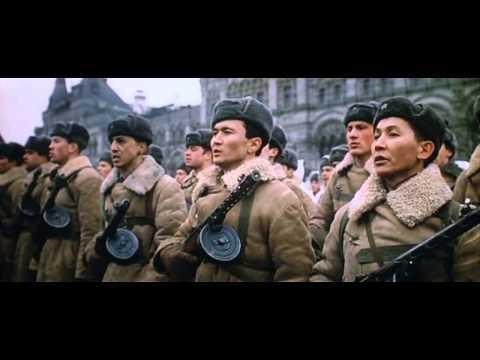 Речь И.В.Сталина.  Военный Парад в Москве, 7 ноября 1941 г. видео