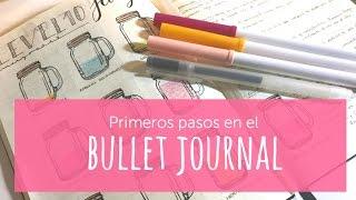 Primeros pasos en mi bullet journal. Materiales y balance del primer mes