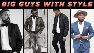 5 Bigger Guys That Have BETTER Style Than YOU 🔥 | Men's Fashion Inspiration | StyleOnDeck