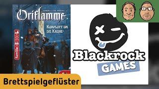 Brettspielgeflüster - Neuheiten Blackrock Games - Oriflamme - Alex & Peat #17