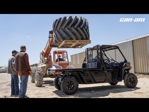 2020 Can-Am Defender Pro XT HD10 in Hollister, California - Video 1