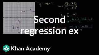 Second Regression Example