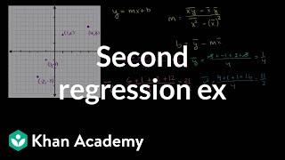Second Regression Example