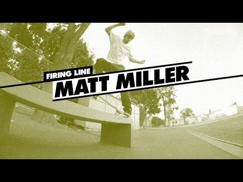 Firing Line: Matt Miller