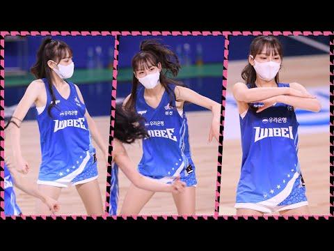 [4K] 201130 치어리더 정희정 직캠 (CheerLeader Focus) -'방탄소년단(상남자+…