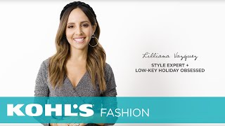 Holiday Lookbook   The Outfit Bar At Kohl's