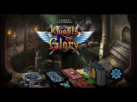 Knights of Glory - Game Component Review (Calvin's Got Game)