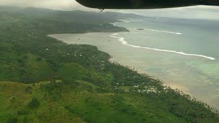 preview picture of video 'Flight from Nadi to SavuSavu, Fiji by Pacific Sun'