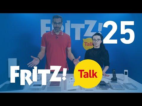 Türsprechanlage mit Kamera an FRITZ!Box anschließen | FRITZ! Talk 25