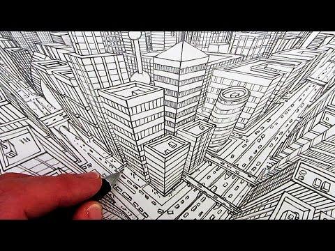 3 Noktalı Perspektif İle Muhteşem Bir Çalışma