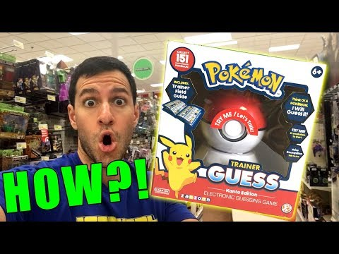 This Pokemon Game Toy READS MINDS...