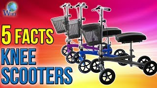 Knee Scooters: 5 Fast Facts
