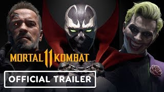 Mortal Kombat 11 - Spawn, Joker, Sindel & Terminator Official Teaser Trailer
