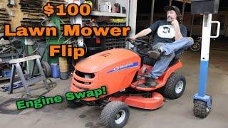 $100 Mower Flip - Engine Swap