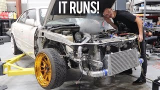Rebuilding a Wrecked JZX100 Chaser Pt. 2