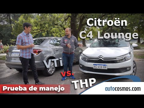 Test Citroën C4 Lounge THP y VTi