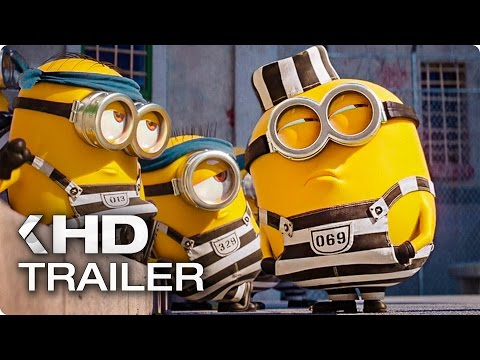 Despicable me 3  quot minions in prison quot  clip  amp  trailer  2017
